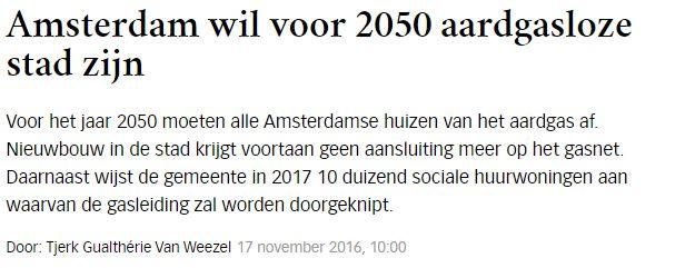 Amsterdam gasloos