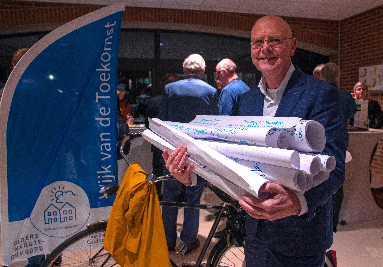 Wethouder Bert van Bijsteren haalt opbrengst Expeditie Wijk van de Toekomst op